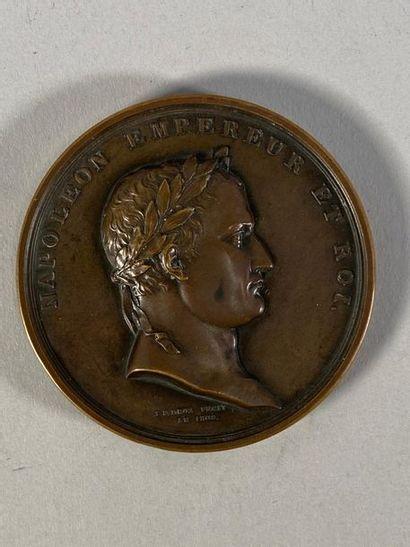 Médaille en bronze de La Banque de France...