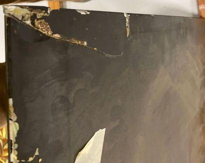 FACULTÉ DE RÉUNION DES DEUX LOTS PRÉCÉDENTS en «Fixé sous verre (cf.peints à l'inverse)...