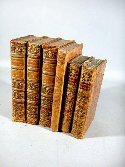 1. [Agriculture]. Ensemble de 6 volumes XVIIIe,...