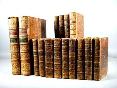 46. [Droit]. Ensemble de 15 volumes XVIIIe,...