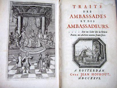 5. [Anonyme]. Traité des ambassades et des...