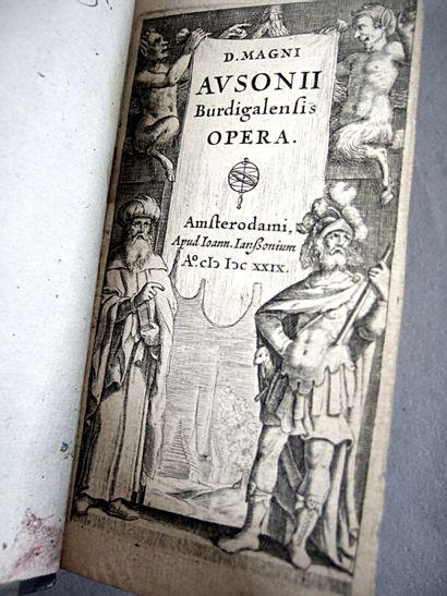 8. AUSONE. D. magni ausonii burdigalensis...