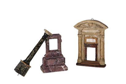 Porte commémoratif de jubilés en plâtre,...