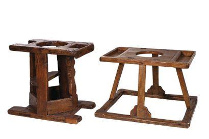 Un siège pour bébés Espagne - Catalogne XIXe...