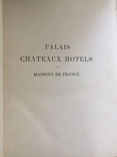 SAUVAGEOT (Claude). Palais, châteaux, hôtels...