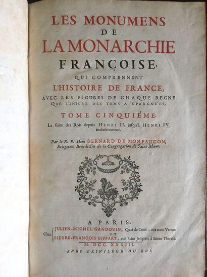 MONTFAUCON (Bernard de). Les Monuments de...