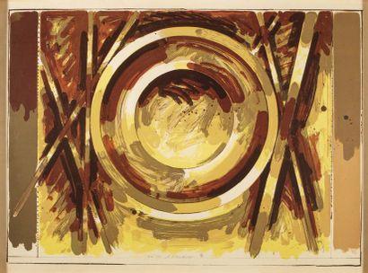 Gérard Titus Carmel (1942) Sans titre Gravure...