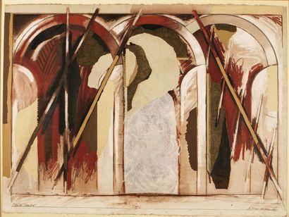 Gérard Titus Carmel (1942) Suite Chancay,...