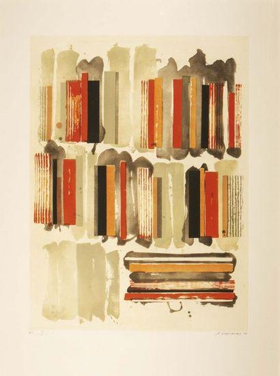 Gérard Titus Carmel (1942) La bibliothèque...