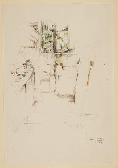 Philippe LEVANTAL (1934) Les champs Dans...