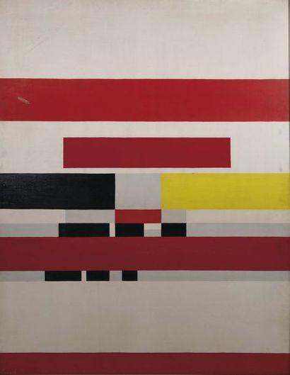 Nicolas Ionesco (1919-1929) Absraction Huile...