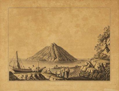 Olivier LE MAY (1734-1797), d'après Vue d'un...