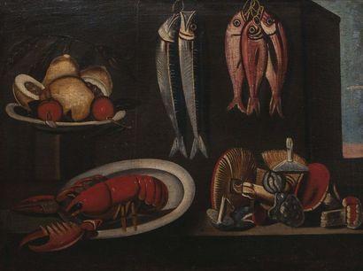 Dans le goût du XVIIème siècle Nature morte...