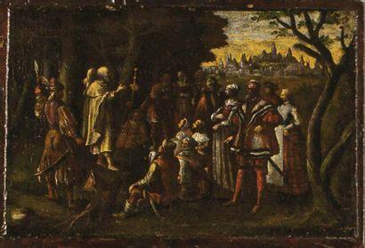 École Italienne de la fin du XVIIème siècle...