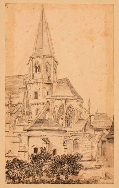 École Française du début du XIXème siècle...