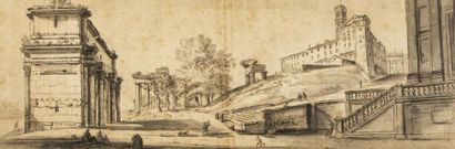 Jean-Baptiste LALLEMAND (1716-1803) Vue du...