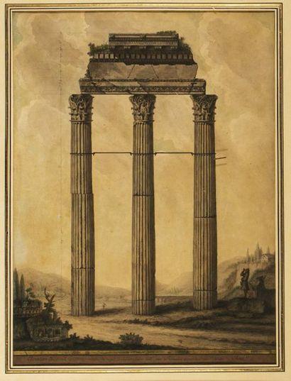 Jean-Jacques LEQUEU (1757-1826) Elévation...