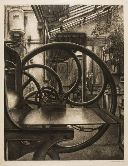 Erik DESMAZIÈRES (1948) L'atelier de René...