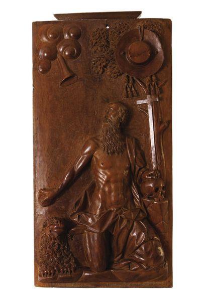 Travail Français, vers 1730 Bas-relief en...