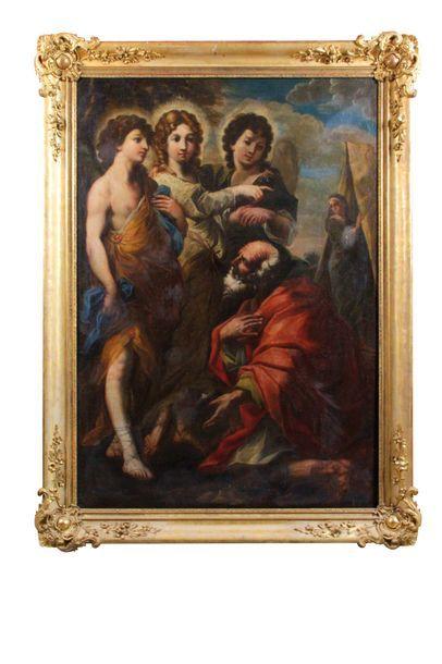 Ecole ROMAINE vers 1660, entourage Giovanni...