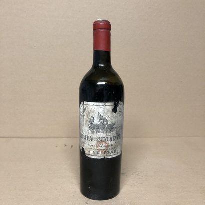 1 bouteille CHÂTEAU BEYCHEVELLE 1947 4e GC...