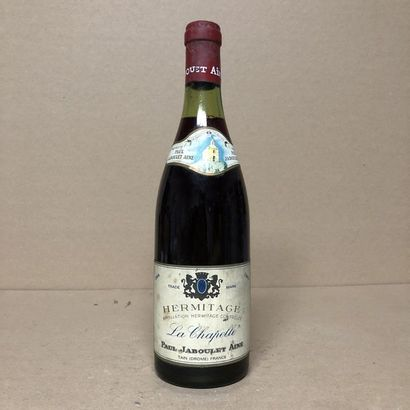 1 bouteille HERMITAGE 1964