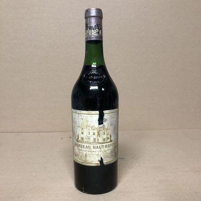 1 bouteille CHÂTEAU HAUT BRION 1966 1er GCC...
