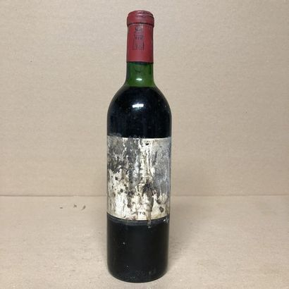 1 bouteille CHÂTEAU LATOUR 1970 1er GCC (niveau...