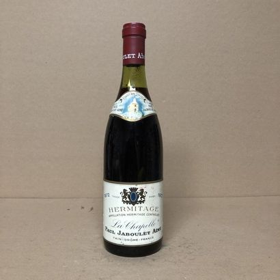 1 bouteille HERMITAGE 1972
