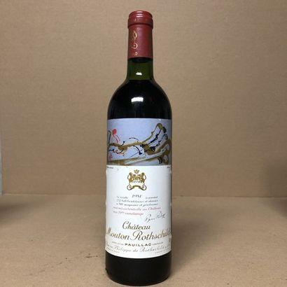 1 bouteille CHÂTEAU MOUTON ROTHSCHILD 1981...