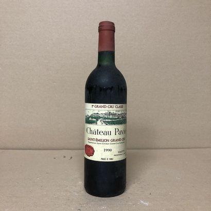 1 bouteille CHÂTEAU PAVIE 1990 1er GCC (A)...
