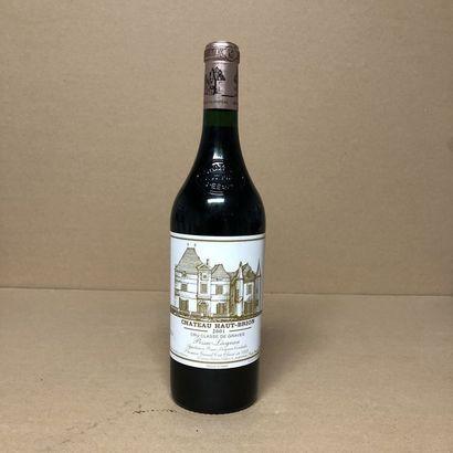 1 bouteille CHÂTEAU HAUT BRION 2001 1er GCC...