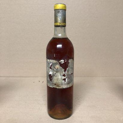1 bouteille CHÂTEAU D'YQUEM 1959 1er Cru...