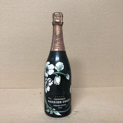 1 bouteille CHAMPAGNE PERRIER JOUET 1978 Brut (étiquette fanée)