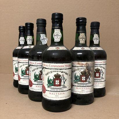6 bouteilles PORTO REAL CAMPANHIA VELHA (niveaux...