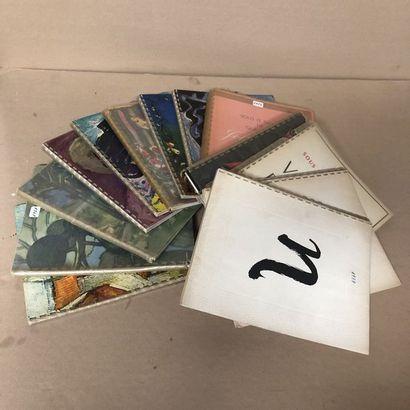 13 catalogues LISTE DES GRANDS VINS FINS...