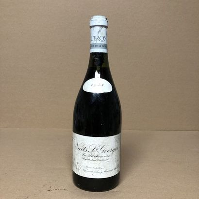 1 bouteille NUITS-SAINT-GEORGES 1938