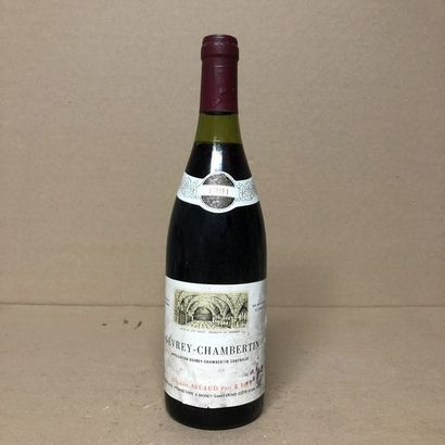 1 bouteille GEVREY-CHAMBERTIN 1991 (niveau...