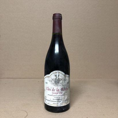1 bouteille CLOS DE LA ROCHE 1997 Grand Cru...
