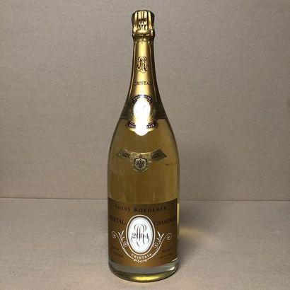 "1 magnum CHAMPAGNE LOUIS ROEDERER 2004 ""Cristal"""