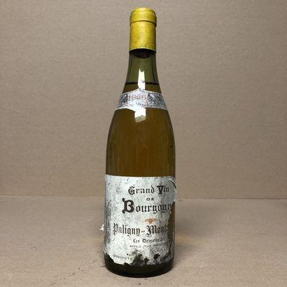 1 bouteille PULIGNY-MONTRACHET 1966 1er cru...