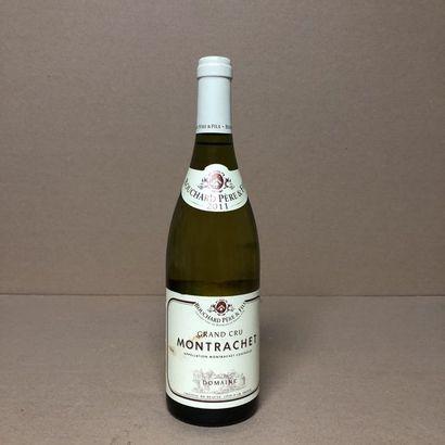 1 bouteille MONTRACHET 2011 Grand Cru (étiquette...