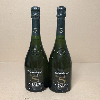 2 bottles CHAMPAGNE SALON 1971 Cuvée