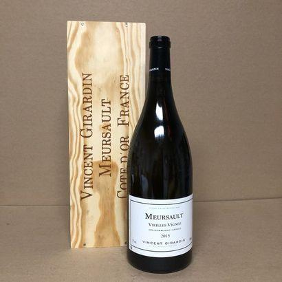 1 magnum MEURSAULT 2015 Vieilles vignes Caisse...