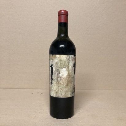 1 bouteille CHÂTEAU MOUTON ROTHSCHILD 1928...