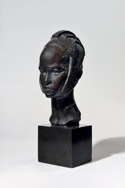 ANNA QUINQUAUD (1890-1984) BISCIGLIA Fondeur...