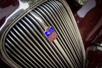 1950 SIMCA 8 Numéro de série 872757  Intéressante version 4 portes sans montants...