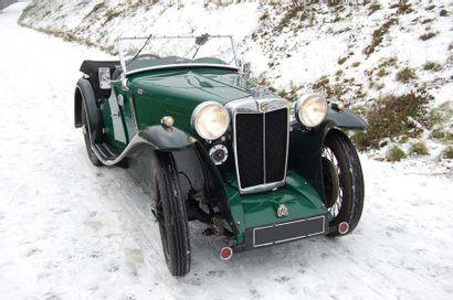 1934 MG PA Tourer