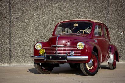 1953 RENAULT 4CV R1062 Découvrable