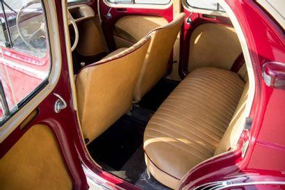 1953 RENAULT 4CV R1062 Découvrable Numéro de série 1876192  Numéro de fabrication...